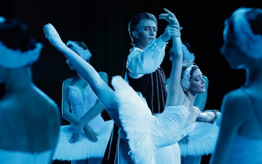Swan Lake in the Kremlin Palace. Starring Sara Lane & Vadim Muntagirov