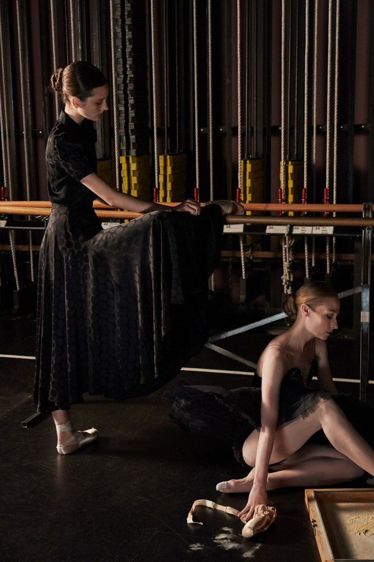 Балет на подиуме