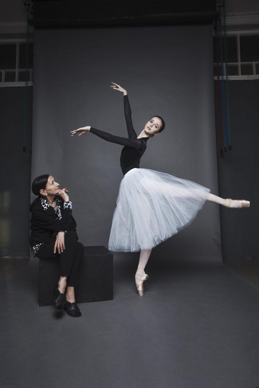 Людмила Ковалева и Мария Хорева