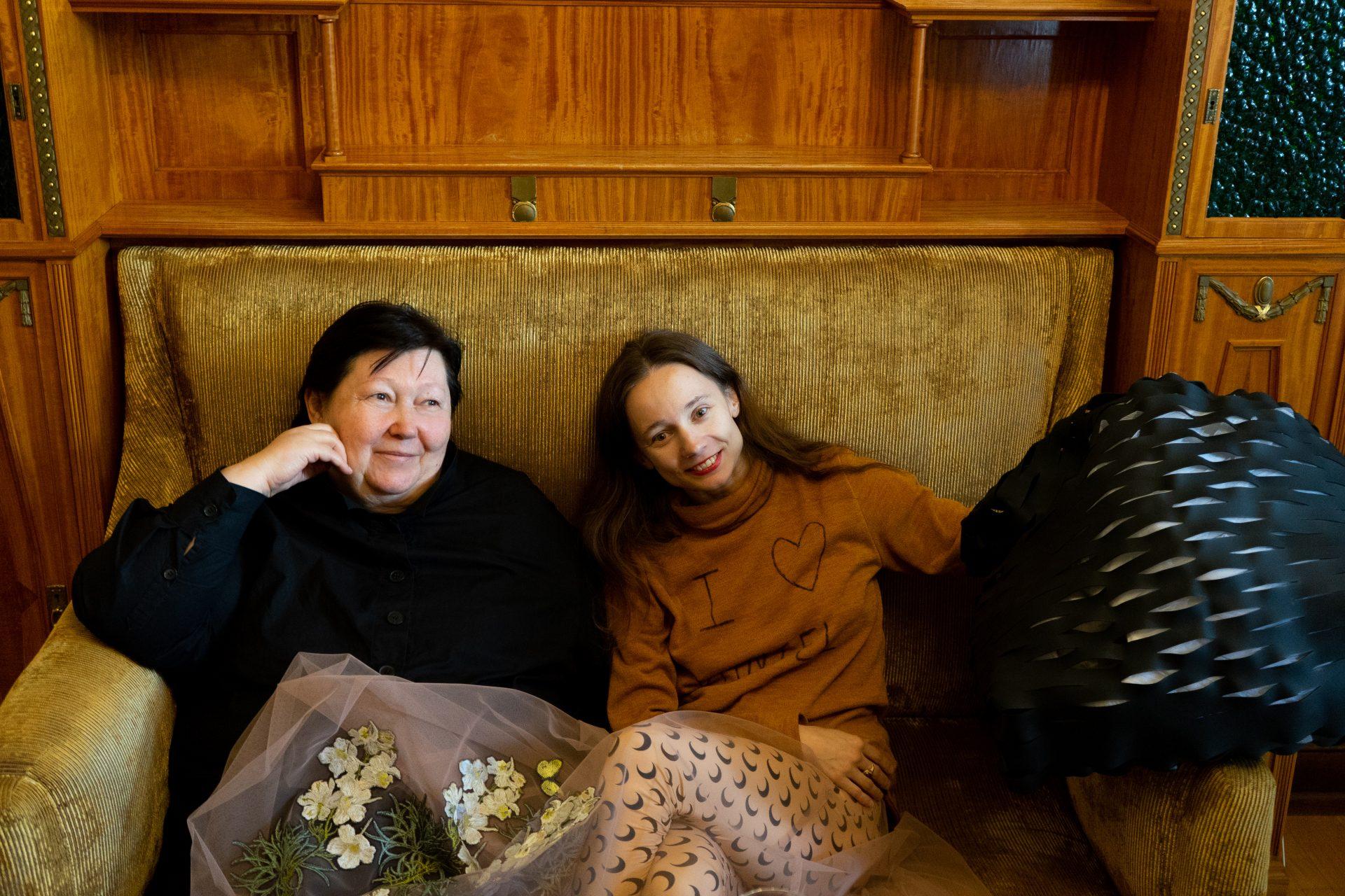 Татьяна Парфенова и Мария Кочеткова