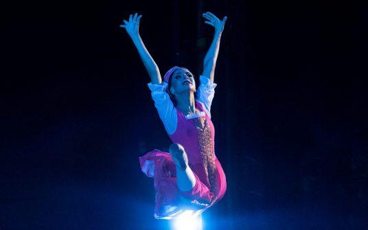 Премьера балета «Аленький цветочек» в Кремле