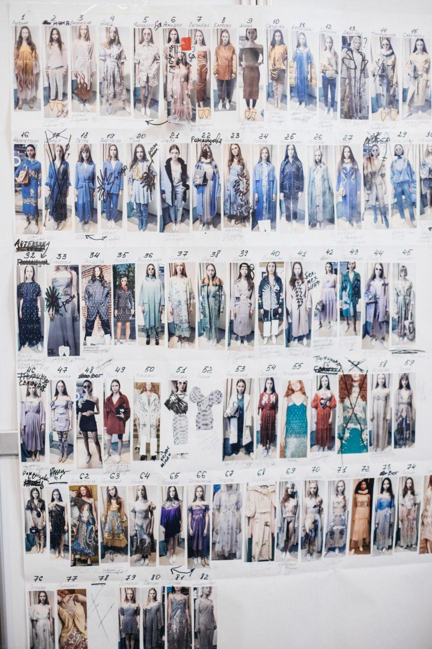 Показ новой коллекции Alena Akhmadullina – Backstage