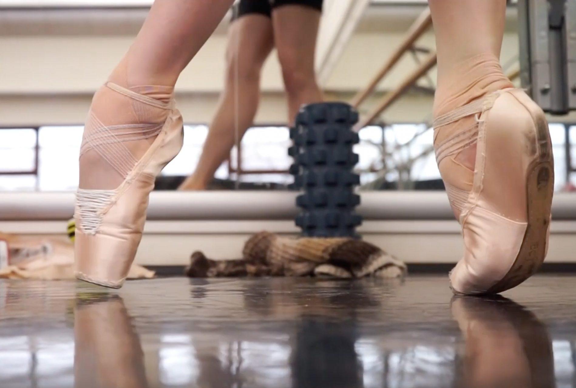 Blitz with ballerina Zhanna Gubanova